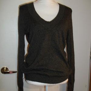 Express V-Neck Sweater L
